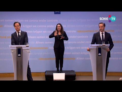SCHIE TV: Premier Rutte: kabinet heeft voornemen voor avondklok en er komt een vliegverbod