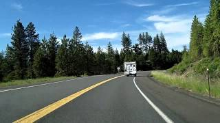 Coeur D'Alene (ID) United States  city photos gallery : Moscow, Idaho to Coeur d'Alene via US 95 Dashcam Drivelapse