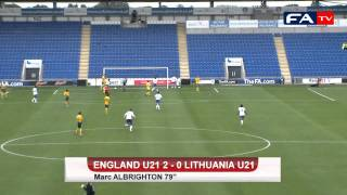Albrighton United Kingdom  City pictures : U21 England vs Lithuania Highlights 3-0 - Welbeck 2, Albrighton