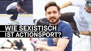 """Wie sexistisch ist der Actionsport? Egal ob Wakeboarding, BMX oder Skateboarding: In vielen Actionsportarten gibt es angeblich noch keine Gleichberechtigung. Unser Reporter Sebastian geht auf dem MUNICH MASH, Deutschlands größtem Actionsport-Event, der Frage auf den Grund, ob der Actionsport wirklich ein Sexismusproblem hat. Und tatsächlich, auch auf dem MUNICH MASH sind die Contests noch reine Männer-Domänen und Frauen oft nur """"hübsches"""" Beiwerk. Warum?– PULS auf Facebook: http://www.facebook.com/PULSPULS auf Twitter: http://www.twitter.com/puls_brPULS auf Instagram: http://www.instagram.com/deinpulsPULS auf Snapchat: http://snapchat.com/add/puls_br"""
