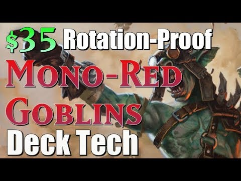 Mtg Budget Deck Tech: $35 Rotation-Proof Goblins in Standard! (видео)