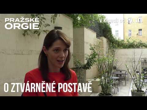 Klára Issová o své roli ve filmu Pražské orgie