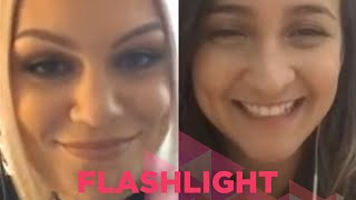 Video Bárbara Dias - Flashlight (Jessie J Smule Sing! Karaoke App) MP3, 3GP, MP4, WEBM, AVI, FLV Agustus 2018