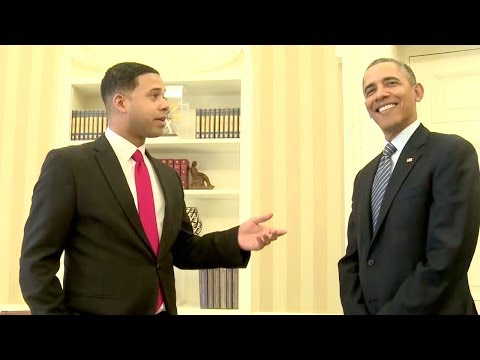white - YouTubers including Alphacat, Nice Peter and MyHarto meet with President Obama about encouraging people to sign up for health care. Subscribe to The Daily Co...