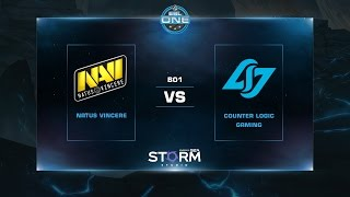 Na'Vi vs CLG, game 1