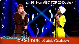 "Video Jeremiah Lloyd Harmon & Cynthia Erivo ""Time After Time""    American Idol 2019 TOP 20 Celebrity Duets MP3, 3GP, MP4, WEBM, AVI, FLV Juni 2019"