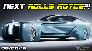 Rolls-Royce Concept, Deli Meats all over NJ Street, Mini Vision Next 100 - Fast Lane Daily by Fast Lane Daily