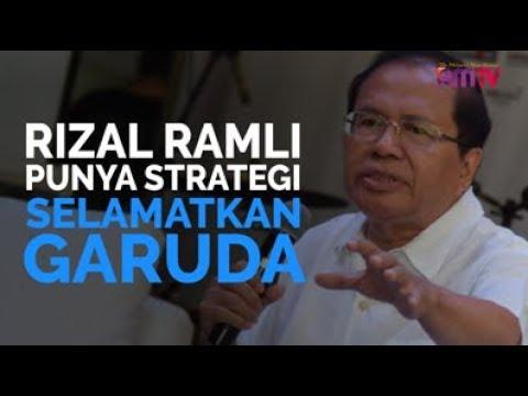 Rizal Ramli Punya Strategi Selamatkan Garuda