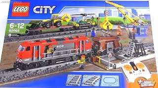 Built in 60 seconds: LEGO Heavy Haul Train 60098