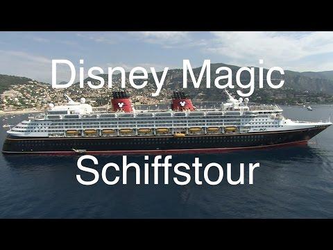 DIsney Magic: Schiffstour und Rundgang