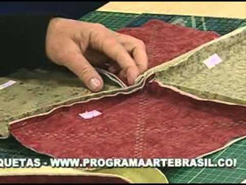 ARTE BRASIL - ELIANA ZERBINATTI - MANTA DE FLANELA RAG QUILT (01/06/2011 - Parte 2 de 2)