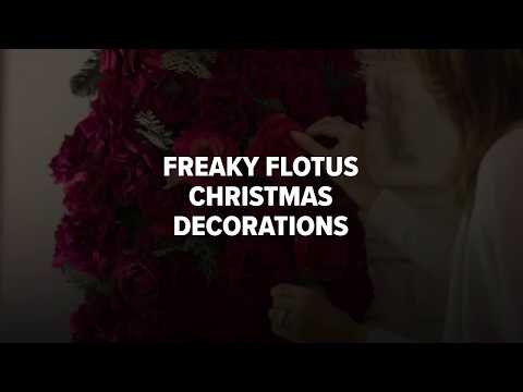 Freaky White House Christmas Decorations