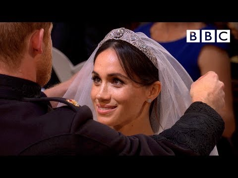 First hymn, first vows | Prince Harry and Meghan Markle - The Royal Wedding - BBC (видео)