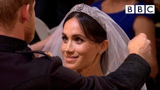 Prince Harry and Meghan Markle marry -  vows and 1st Hymn