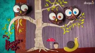 Cupcakes super chouettes avec des Oreos