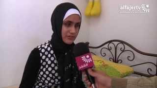 الطفلة حسناء بصيرتها جعلتها تتقن اللغة الكردية وتشدو بصوتها العذب