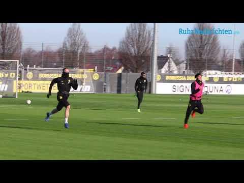 BVB-Training am Tag nach dem Leipzig-Spiel