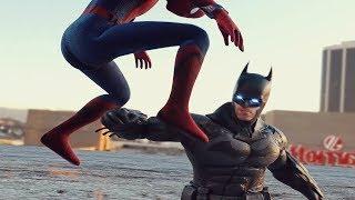 Video COSMIC SPIDER-MAN vs GOD GOKU v SPIDER-MAN HOMECOMING v BATMAN v SUPERMAN INJUSTICE 2 Style FIGHT MP3, 3GP, MP4, WEBM, AVI, FLV Agustus 2018
