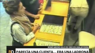 Takim właśnie sposobem Kobieta podpierniczyła pół kilo złota u jubilera! :O