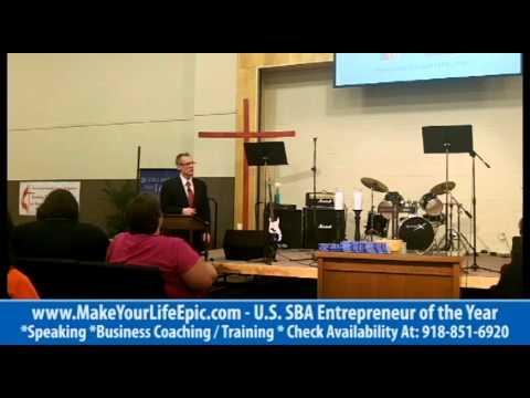 """Customer Service 101"" – Tulsa Motivational Speakers (At Oklahoma State University)"