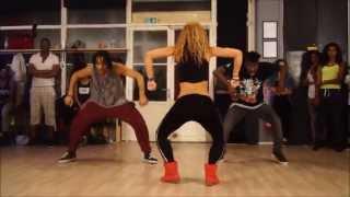 Wizard ft. Chedda & Nyanda- Like a Pro - New dancehall Choreo by Aya - YouTube