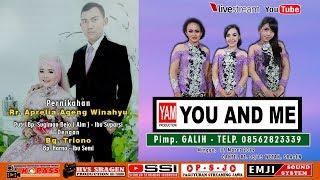Live Streaming YOU AND ME | EMJI Audio | HVS Sragen Crew 2