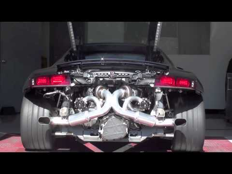 Heffnertwinturbo - Heffner Twin Turbo 2011 V10 Audi R8 Coupe Dyno run. 7 psi of boost bolt on system.