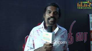 Sharath at Mugathirai Short Film Screening