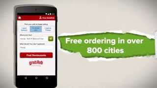 GrubHub Food Delivery/Takeout YouTube video