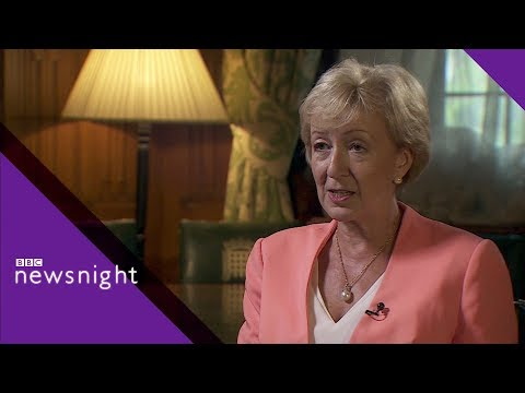 Andrea Leadsom on bullying and harassment at Westminster - BBC Newsnight