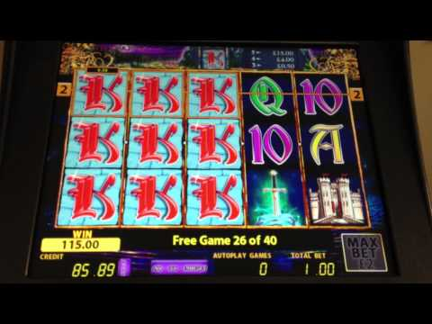 Excalibur's Choice - £500 slot