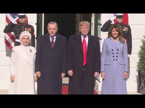 Συνάντηση του προέδρου των ΗΠΑ Ντόναλντ Τράμπ με τον πρόεδρο της Τουρκίας, Ρετζέπ Ταγίπ Ερντογάν