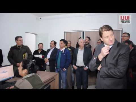 Inaugurado Sistema de Videomonitoramento em Ijuí