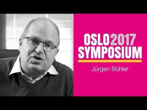 Jurgen Buhlers tale på Oslo Symposium 2017 fredag