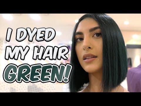 Hair salon - I DYED MY HAIR GREEN, OMG!!!