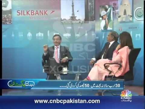 Dr. Javaid Laghari Chairman HEC Badalta Pakistan, Mujahid Barelvi CNBC – Part 1/3