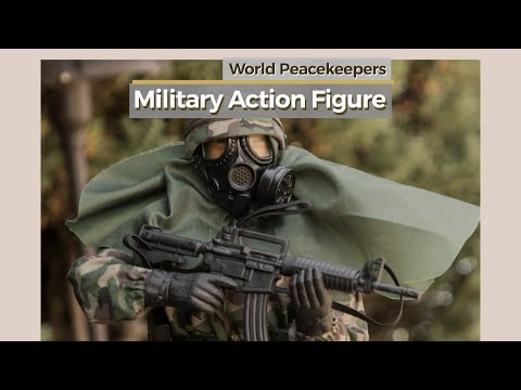 Military Action Figure // World Peacekeepers