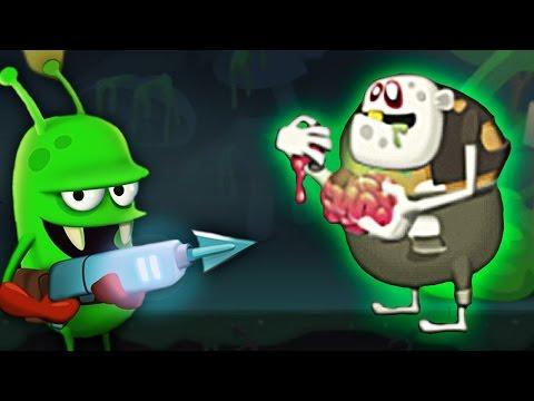 ОХОТА НА ЗОМБИ встретил РАДИОАКТИВНОГО ЗОМБАРЯ Мульт игра для детей Zombie Catchers онлайн видео
