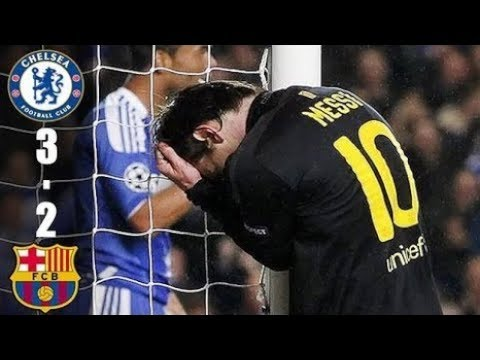 ►Chelsea VS FC Barcelona 3-2 All Goals and Highlights (UCL) 2011/12 HD