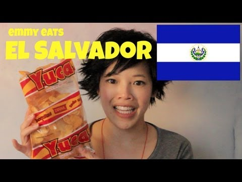 El - Tasting El Salvadorian treats sent from viewer Nancy on this episode of Emmy Eats El Salvador on Emmymade in Japan. Subscribe: http://youtube.com/subscriptio...