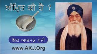 006 Amrit Ras Kee Hai | Audio Book | Amrit Kee Hai ? | Bhai Sahib Bhai Randhir Singh Jee