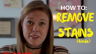 Molly The Millennial//HOW TO: Remove Stains