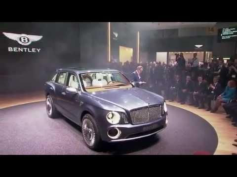 Bentley  Женевский автосалон 2012 Bentley