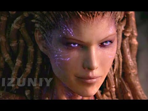 StarCraft 2 Heart of the Swarm Story All Cutscenes / Cinematics Movie