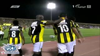 O melhor do futebol em: www.realcaqui.comjogo válido pelo Campeonato Árabe.Cruzamento feito pelo ex-vascaíno Diego Souza.