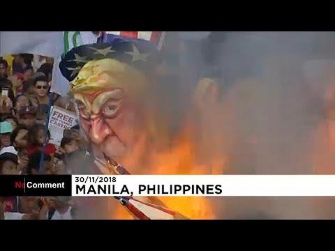Διαδήλωση στους δρόμους των Φιλιππίνων