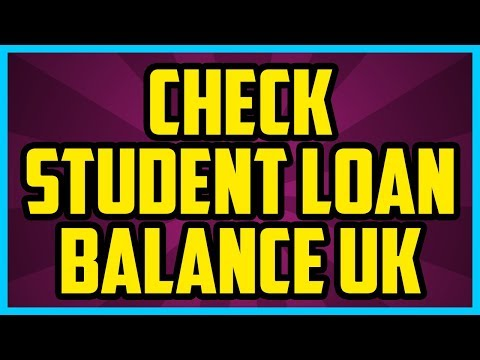 How To check Student Loan Balance UK 2017 (QUICK & EASY) - Student Loan How Much Do I Owe