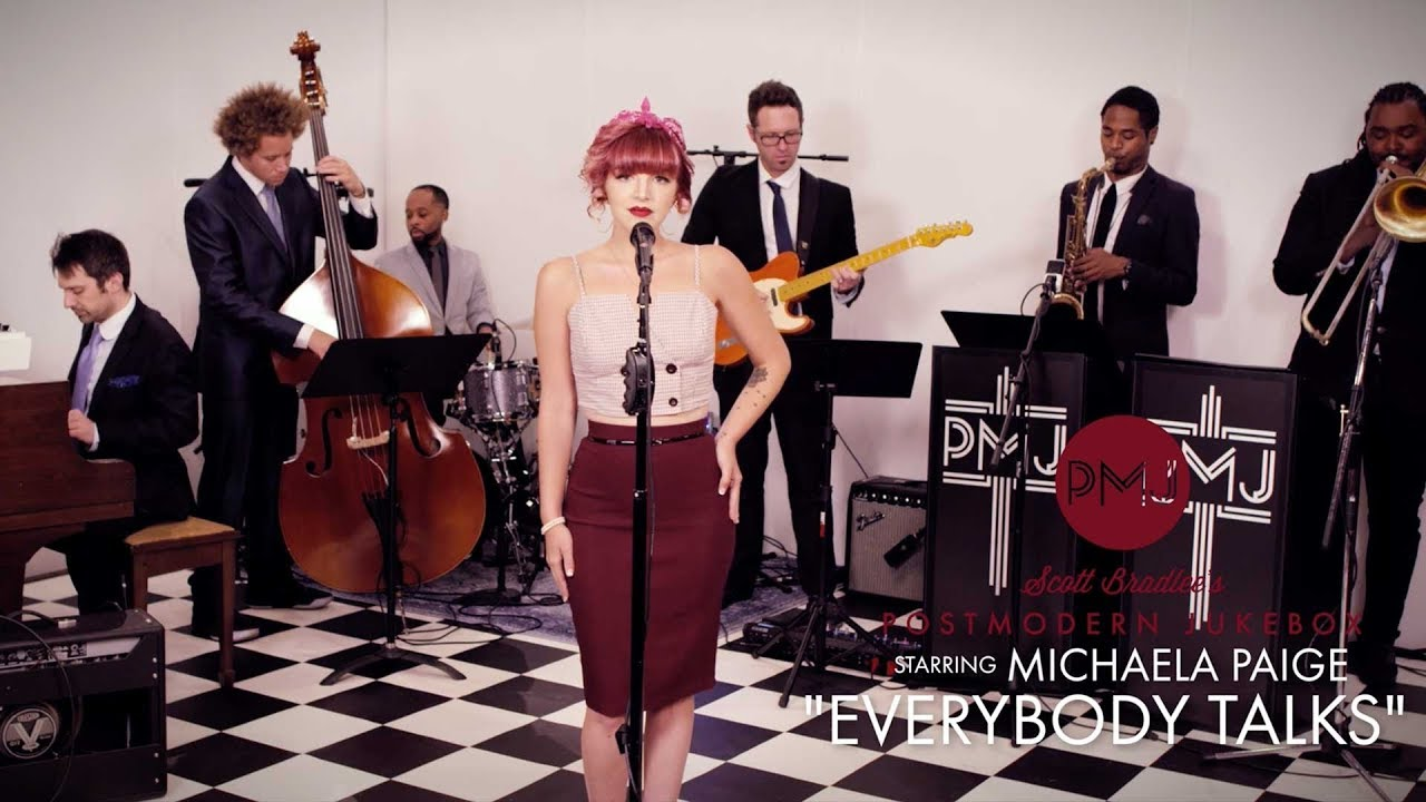 Everybody Talks – Neon Trees (Vintage Otis Redding Style Cover) ft. Michaela Paige
