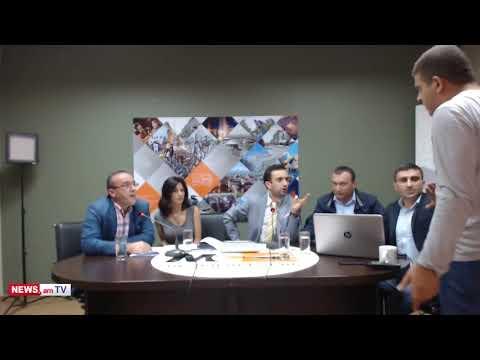 Վիճաբանություն ուղիղ եթերում ԲՀԿ անդամների և «Անկախ դիտորդի» անդամների միջև - DomaVideo.Ru