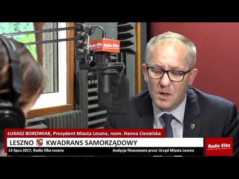 Wideo1: Leszno Kwadrans Samorządowy 13 lipca 2017